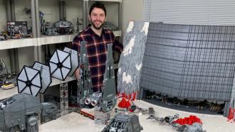 LEGO Star Wars battle of crait