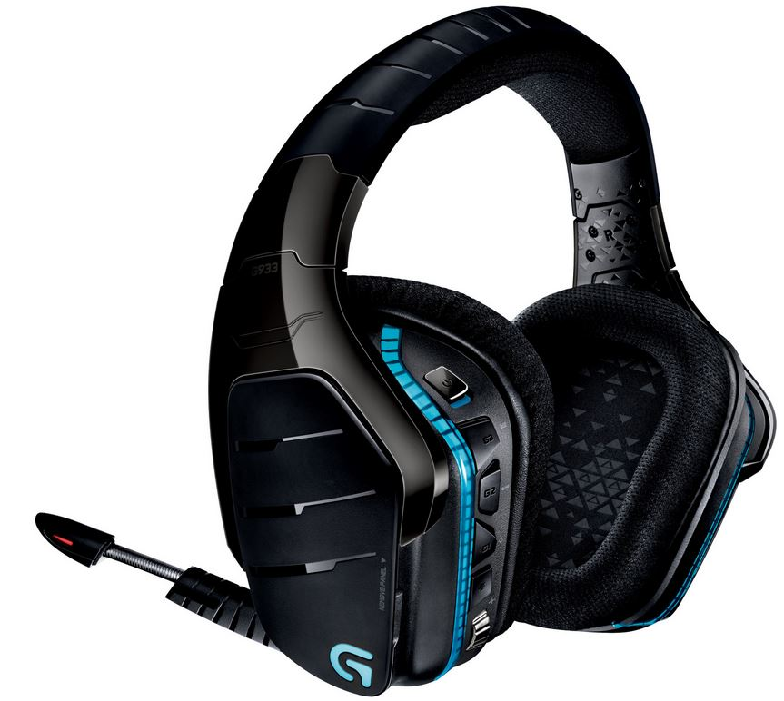 Logitech G933 Artemis Spectrum draadloze over-ear gaming headset