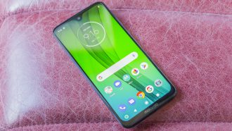 Motorola Moto G7 preview design