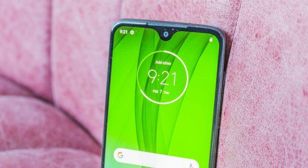 Motorola Moto G7 preview design