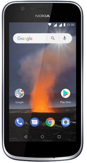 Nokia 1 2018 smartphone