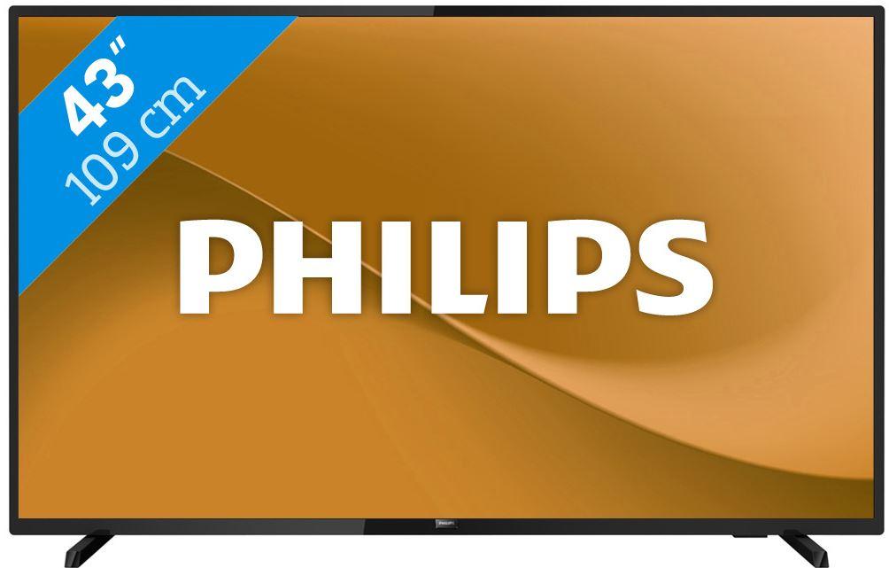 Philips 43 inch TV 43PFS5503 met mediaspeler