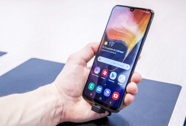 Samsung Galaxy A50 preview design