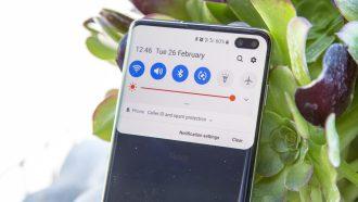 Samsung Galaxy S10 Plus preview design