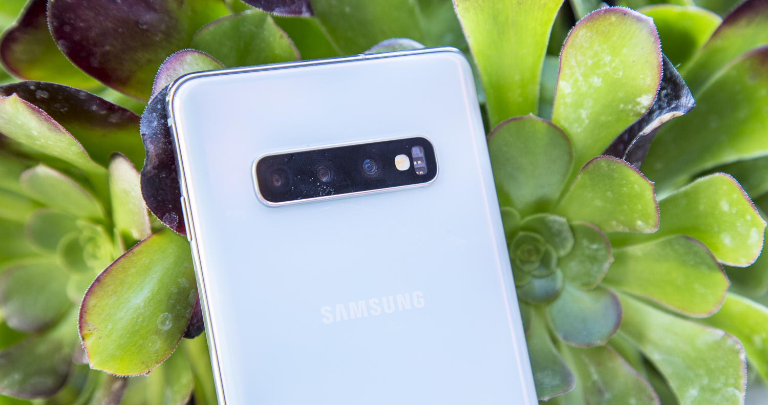 Samsung Galaxy S10 Plus preview design