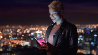 Samsung Galaxy Fold opvouwbare smartphone Galaxy F