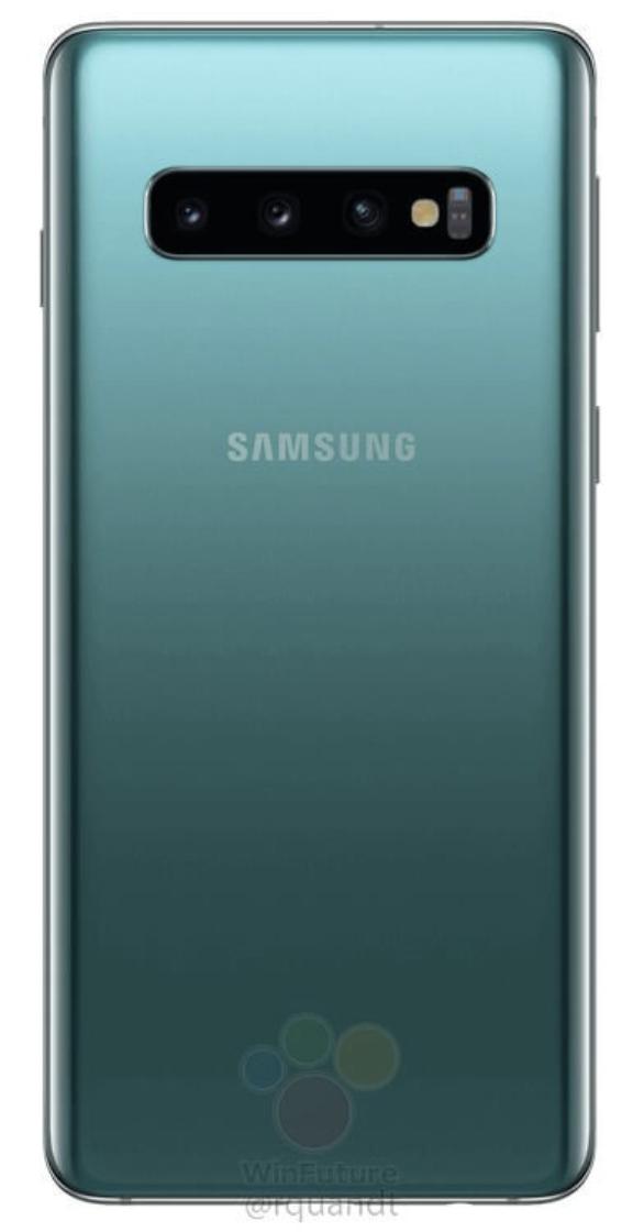 Samsung Galaxy S10 officiële beelden