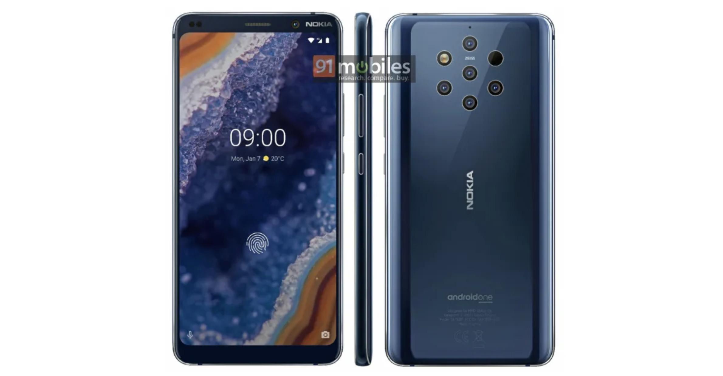 Nokia 9 PureView officiële persbeelden