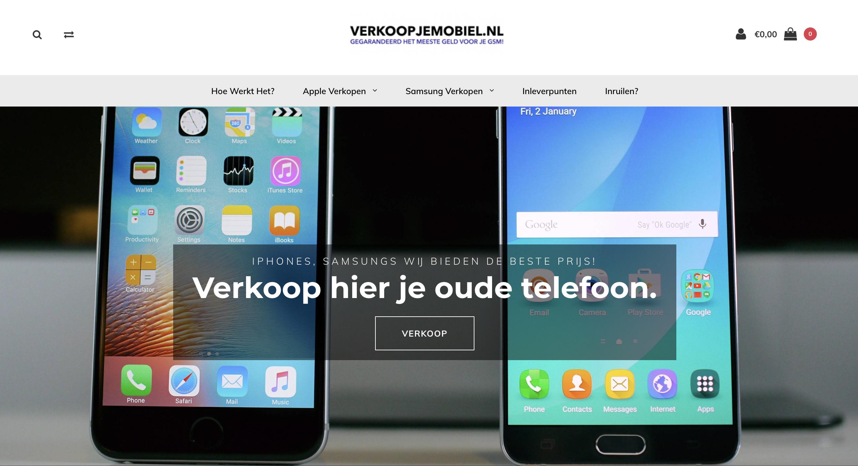 Verkoop Je Mobiel iPhone Android smartphone