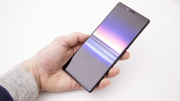 Sony Xperia 1 preview design