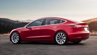 Tesla Model 3 Elektrische auto's