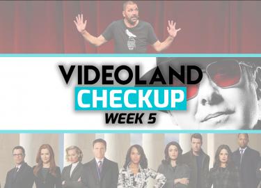 Videoland Checkup 6 Films en Series nieuw
