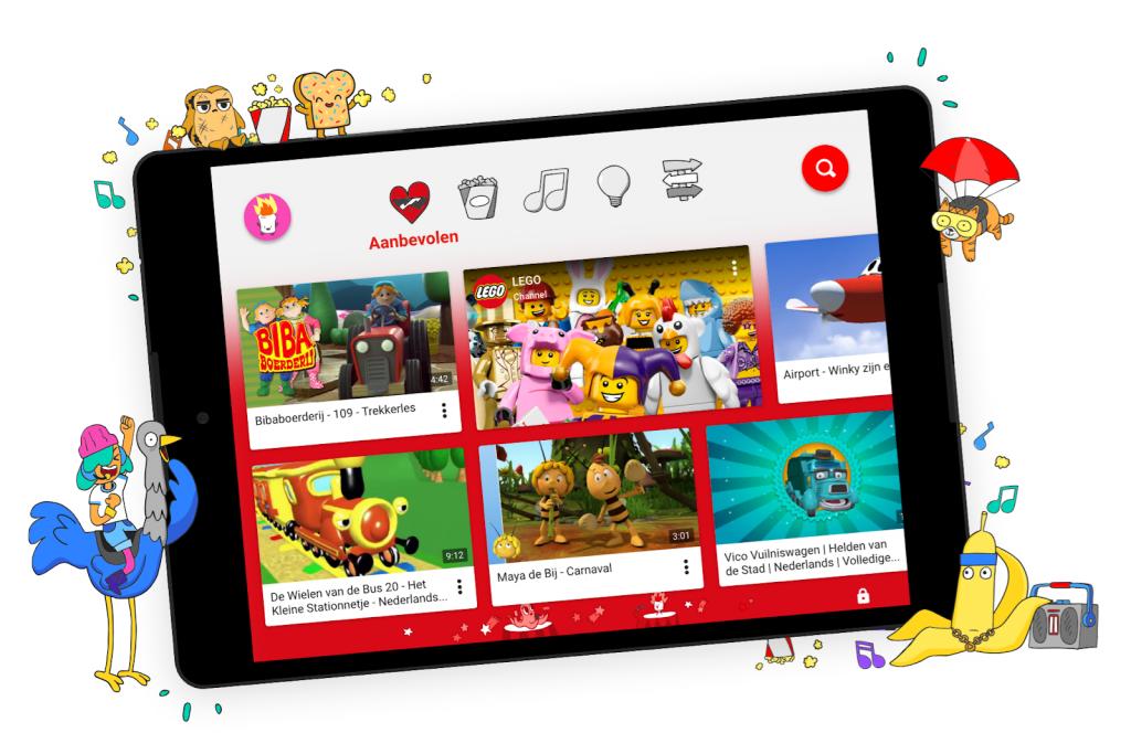 YouTube Kids Google App