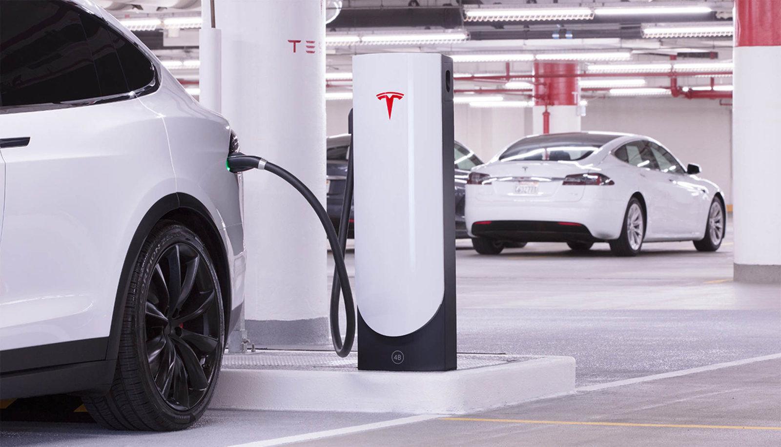 Tesla Batterijen elektrische auto's