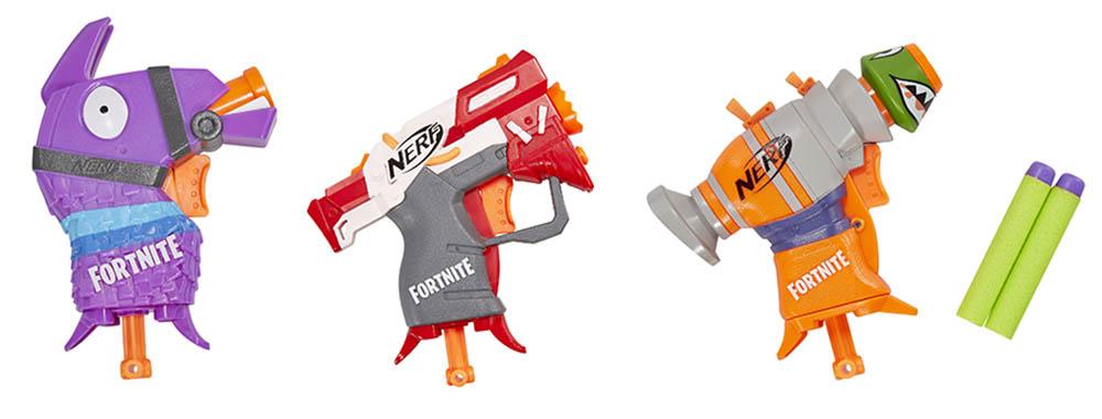 Fortnite MicroShots blasters