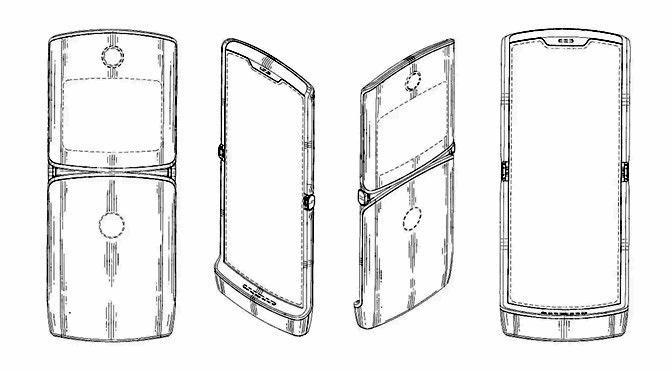 Opvouwbare smartphone Motorola Razr