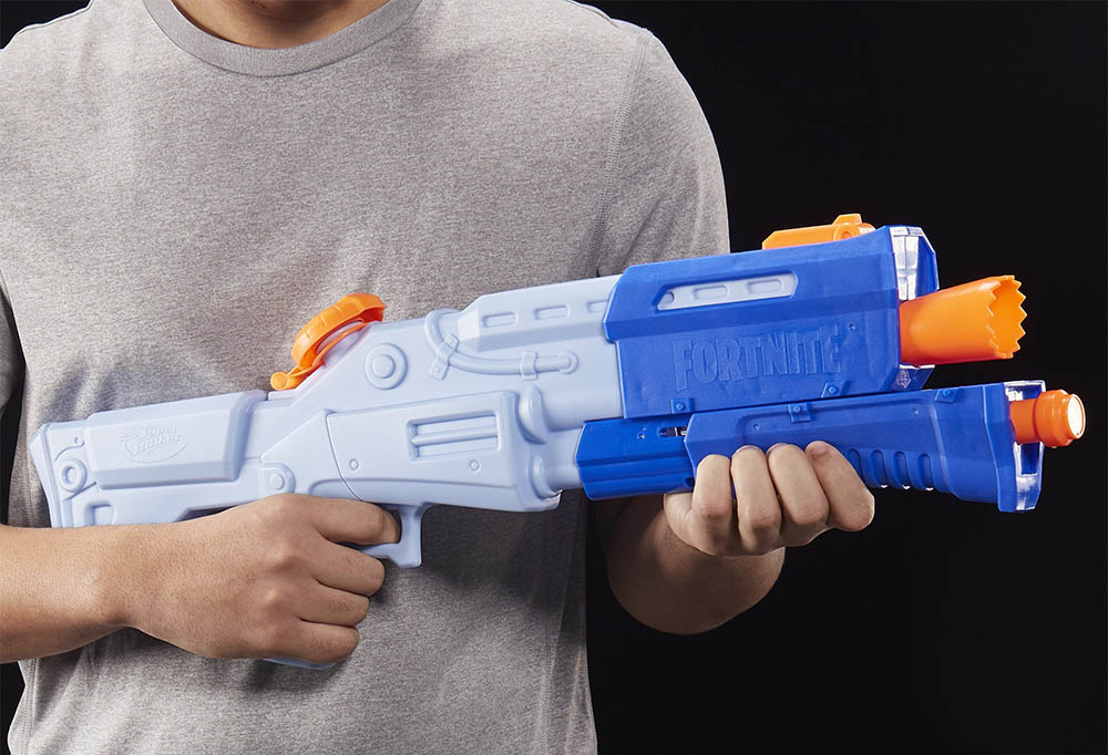 Nerf Fortnite TS-R Super Soaker Water Blaster Pump Action