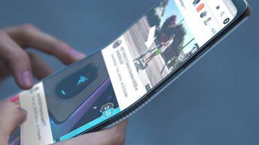 Opvouwbare smartphone Motorola Razer