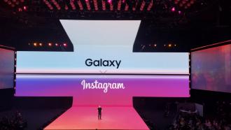 Samsung Galaxy S10 Instagram