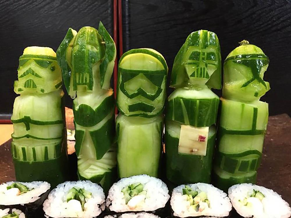 Star Wars groenten