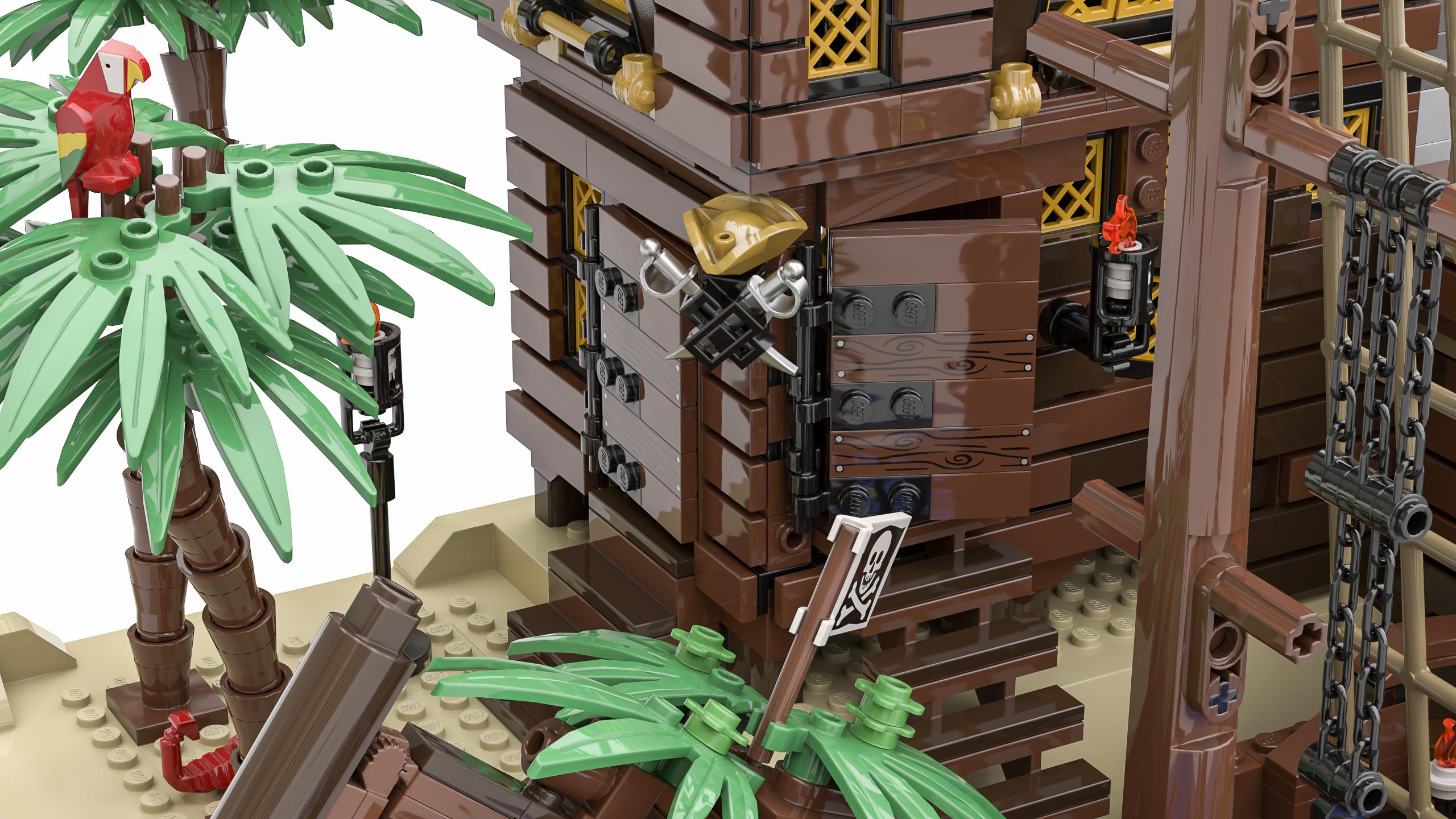 LEGO piraten set