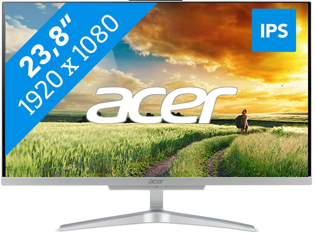 Acer Aspire all-in-one desktop C24-865 I7628 NL