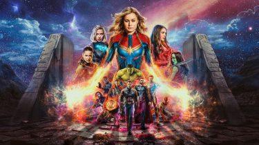 Avengers Endgame Marvel Captain Marvel