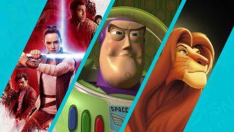 Disney Plus vijf films Disney