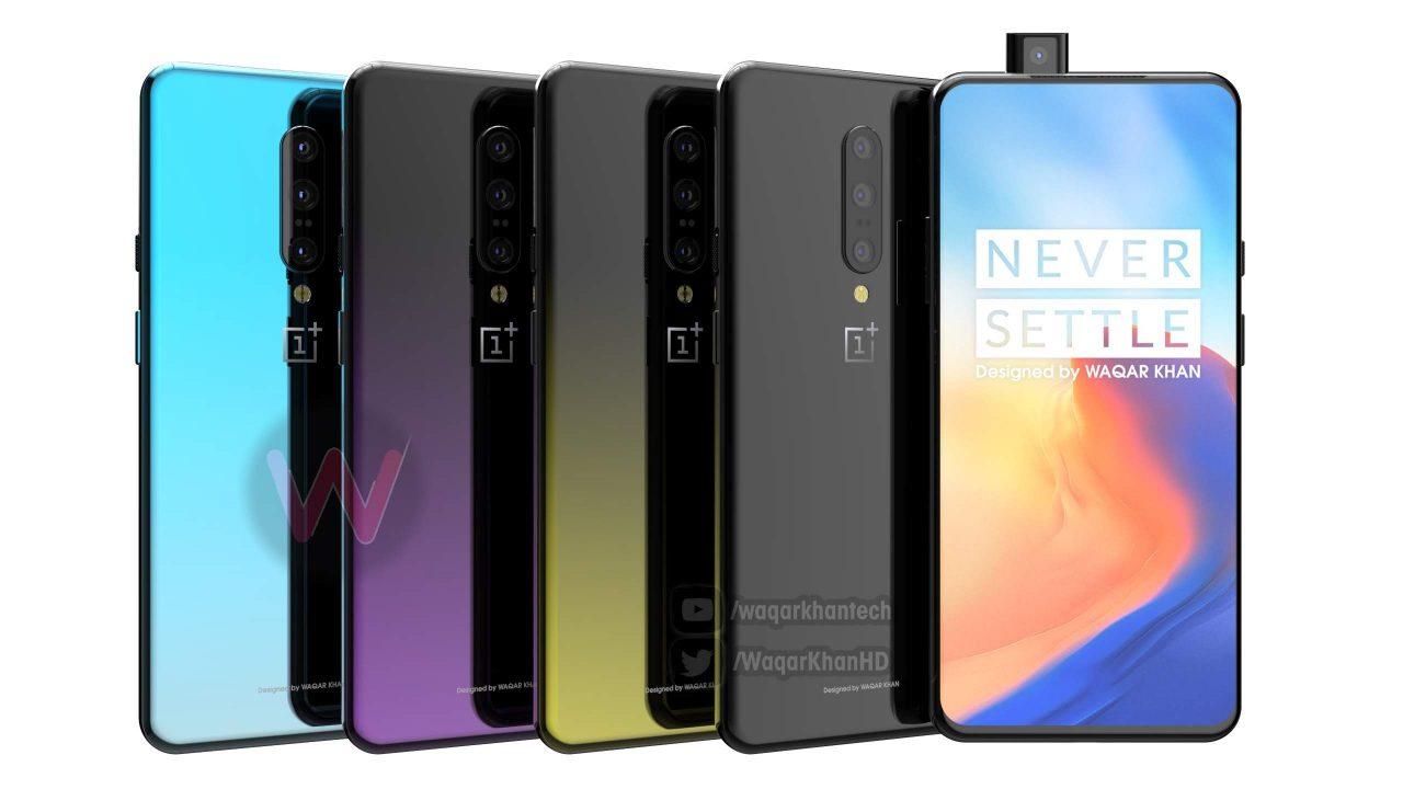 OnePlus 7 smartphone kleurenopties