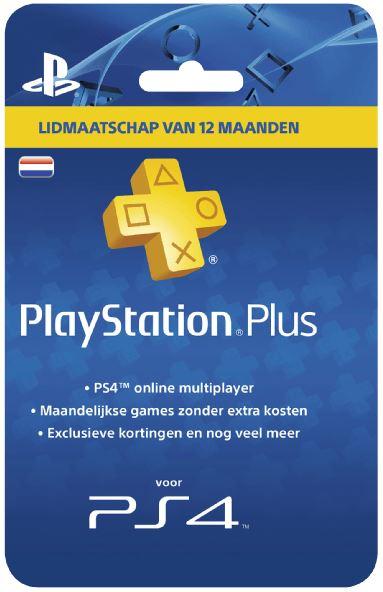 PlayStation Plus Card