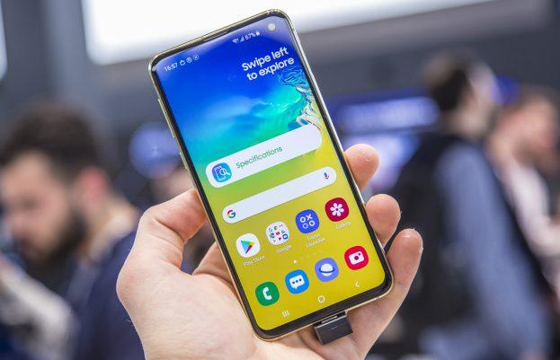Samsung Galaxy S10e preview uitgelicht