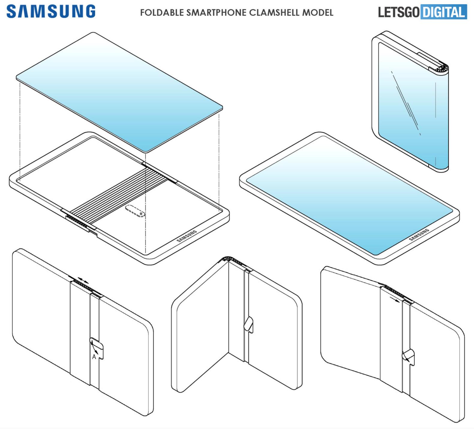 Samsung Galaxy opvouwbare smartphone