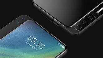 ZTE Smartphone Slider renders