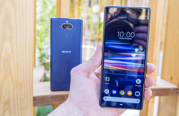 Sony Xperia 10 Plus preview design