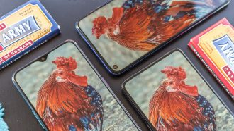 Honor View 20 vs Oppo RX17 Pro vs Xiaomi Mi Mix 3 notch