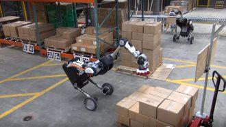 Boston Dynamics Handle robot