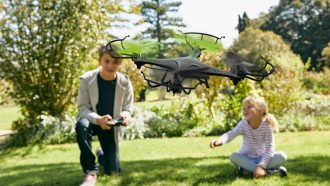 Lidl stunt-drone