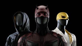 Marvel veiling prop store