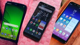 Beste smartphones onder e200 uitgelicht