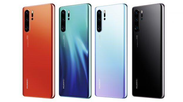 Huawei P30 Pro kleuren