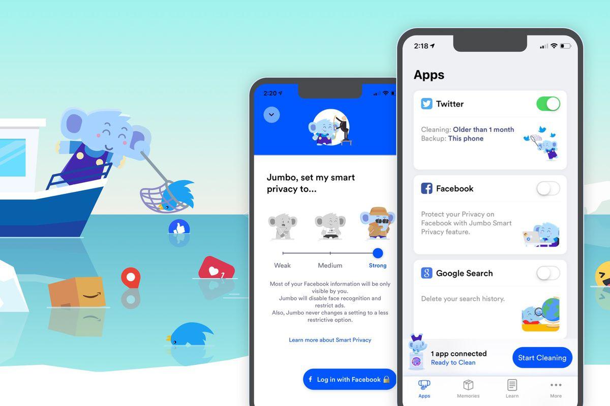 Jumbo app privacy
