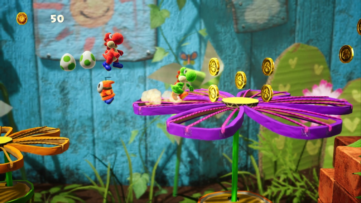 Yoshi's Crafted World