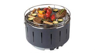 Aldi compacte houtskoolgrill barbecue