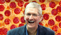 Tim Cook Apple Pizza