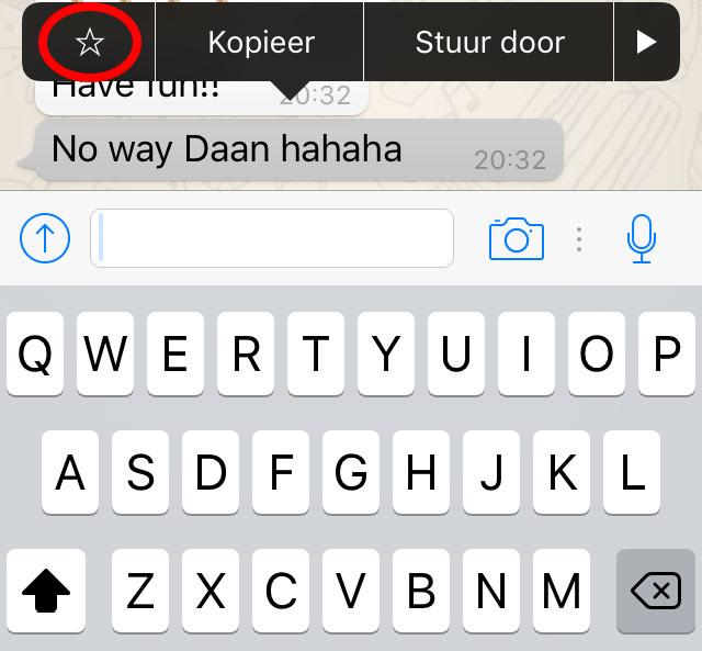 WhatsApp onbekende functies