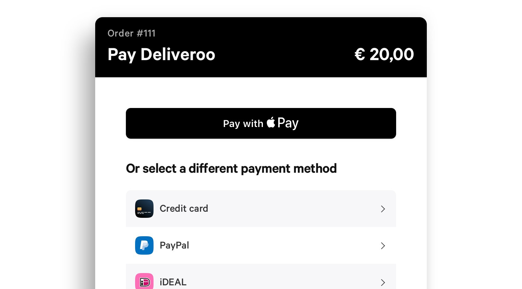 Apple Pay Nederlandse Webshops