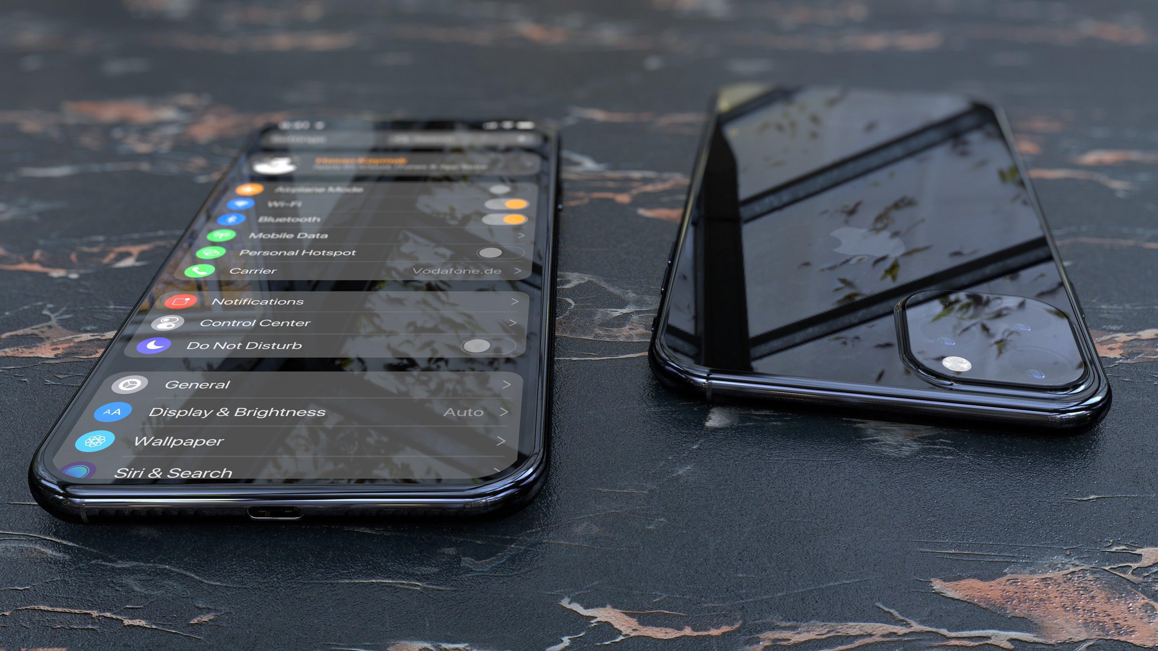 Apple iPhone 11 renders