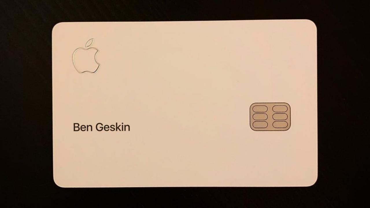 Apple Card Ben Geskin