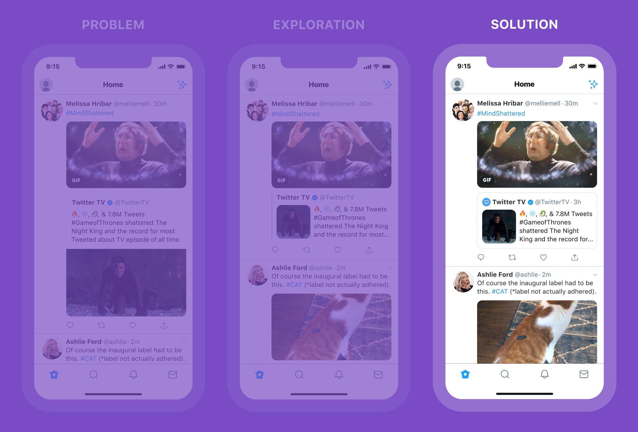 Twitter retweets video afbeelding GIF