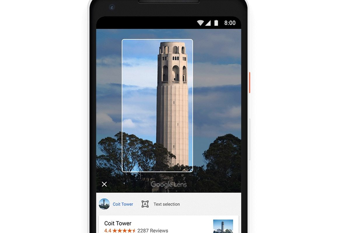Google Lens Android apps